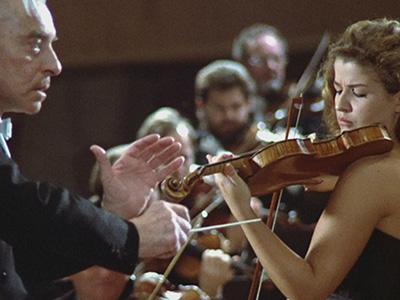 Sternstunden – Anne-Sophie Mutter und Herbert von Karajan: Das Beethoven-Konzert