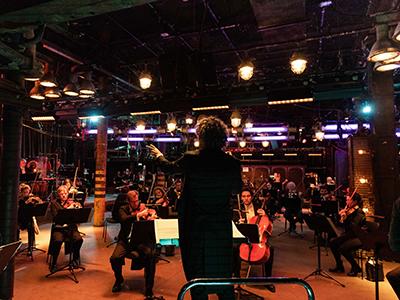 Konzertfilm-Trilogie mit Robin Ticciati und dem DSO